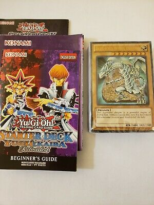 Yugioh! Kaiba Reloaded Starter Structure Deck Sealed, playmat, guide, NO BOX