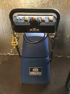 Windsor Clipper Carpet Cleaner Machine Clp Used Working