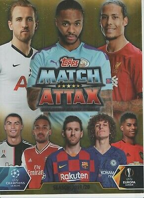 Match Attax Champions League 2019/20 Base Team Sets Pick What You Need