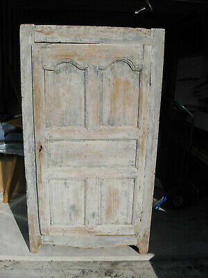 """1800's One Door Primitive Farm House Antique Cupboard Cabinet Large 72"""" Tall WoW"""