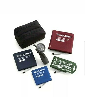 5098-30 Welch Allyn DS66 Trigger Aneroid Family Kit with 4 cuffs