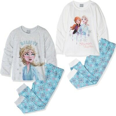 Disney Frozen Girls Lightweight Cotton Nightdress Nightie Elsa Pyjamas 3-8 yrs