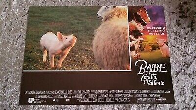 Babe The Gallant Pig lobby cards