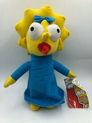 The Simpsons Maggie Simpson Baby Universal Studios Plush Kids Soft Stuffed Toy