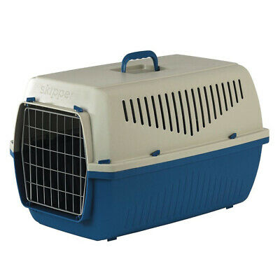 Marchioro Skipper 1F Pet Carrier Small Tan & Blue