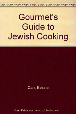 Gourmet's Guide to Jewish Cooking by Oberman, Phyllis Hardback Book The Cheap