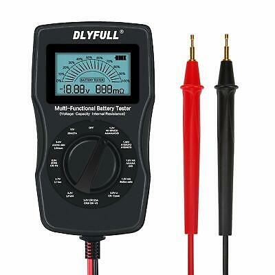 Universal Battery Checker Tester with Leads LCD Display, Battery Capacity