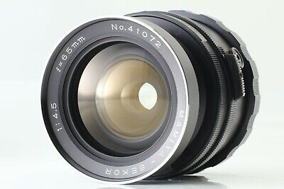 【NEAR MINT】 Mamiya Sekor 65mm f/4.5 Wide Angle Lens for RB67 Pro S SD from Japan