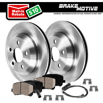 Front 324 mm And Rear 320 mm Brake Disc Rotors For BMW E60 525 525i 528i 530i