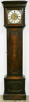 Antique Kienzle 8 Day Oak Musical Westminster Chime Grandfather Longcase Clock