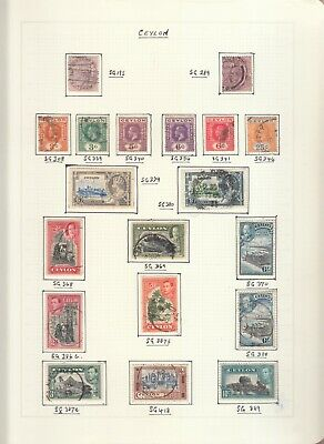Commonwealth Collection On 6 Album Pages Victoria To Qe 2Nd Mint/Used 2