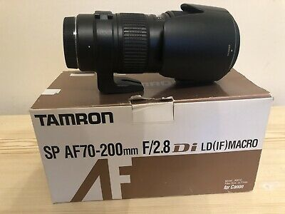 Tamron SP AF 70-200mm F2.8 Canon EF Di LD IF Boxed