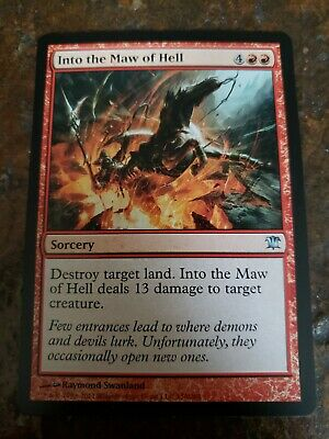 4x MTG Into the Maw of Hell Innistrad Uncommon