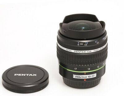 Pentax Smc Pentax-Da Fish-Eye 3,5 -4, 5/10-17 mm Ed (si )