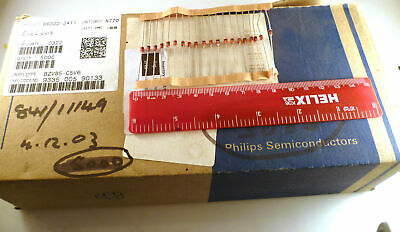 Philips 1N4448 Small Signal Diode 100V 200mA 1V 4ns 4A 100 Pieces MBD019C