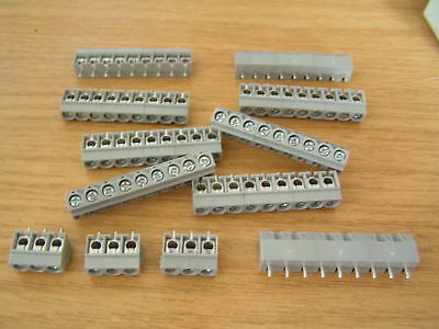 IMO 20.501M9 PCB 9 Way Terminal Block 3x3W slideloc OLB004 10 pieces