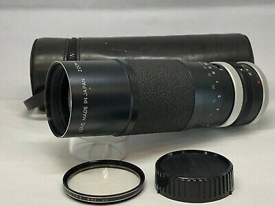 【As Is】Minolta Zoom Rokkor 100-200mm f5.6 MD Zoom from JAPAN