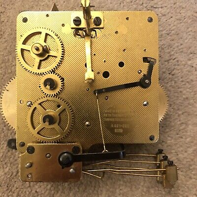 5 Hammer 4X4 Mechanism  From An Old  Antique Clock Unknown Condition