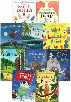 Julia Donaldson Story Collection 10 Books Set in a Bag PB NEW