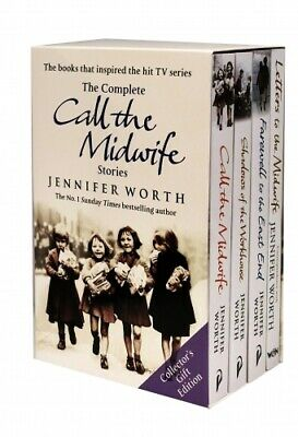 Jennifer Worth Collection 4 Books Set (Call The Midwife, Shadows Of The Workhous