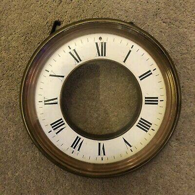 Antique Clock Face With Glass Dome