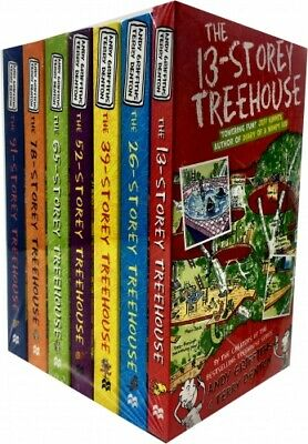 The 13-Storey Treehouse Collection Andy Griffiths and Terry Denton 7 Books Set