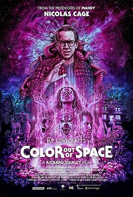 """Color Out Of Space movie poster (c) - 11"""" x 17"""" inches - Nicolas Cage"""