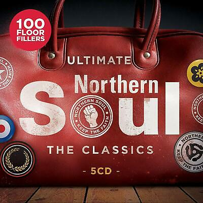 Ultimate Northern Soul - The Classics - Drifters Mary Wells - 5 Cds - New!!
