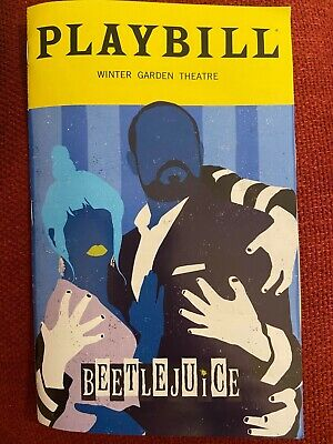 Beetlejuice Playbill Limited Edition February Charles Delia Deetz