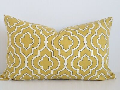 DWELL STUDIO PILLOW Yellow Rosette Rose