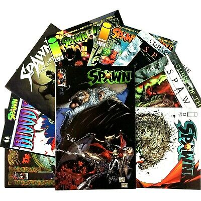 Spawn Comic Book Lot 9 Issues Image VF NM WildCats Blood Feud Undead Impaler #1