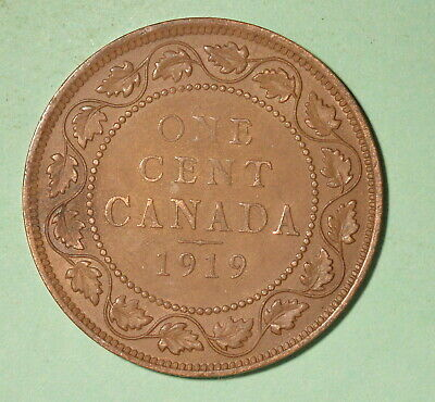 1919 Canada Large Cent EF+  - INV# C-71