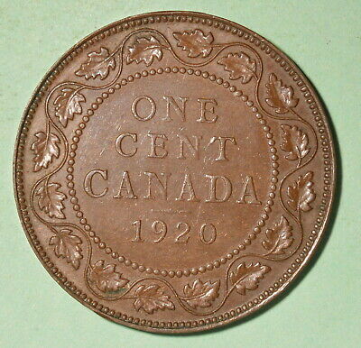 1920 Canada Large Cent XF - INV# C-72