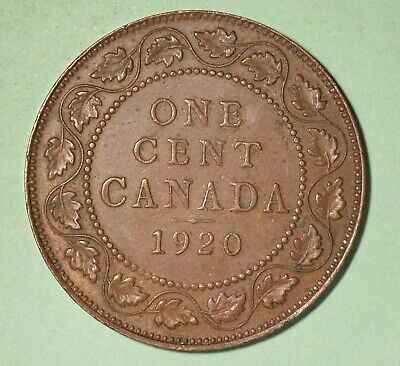 1920 Canada Large Cent XF - INV# C-73