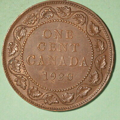 1920 Canada Large Cent XF+ - INV# C-74
