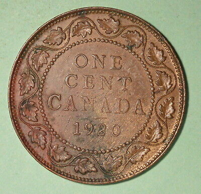 1920 Canada Large Cent XF - INV# C-75