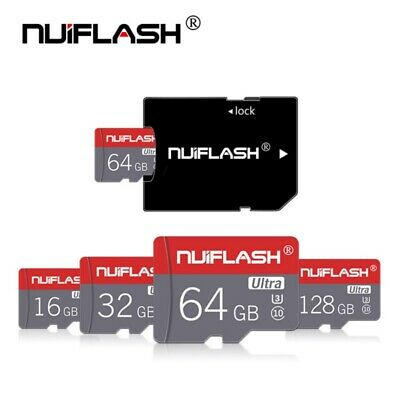 128GB NUIFLASHR Ultra S/D-Kartes C10 High Speed-Handy-Tablets Kamera Speicher