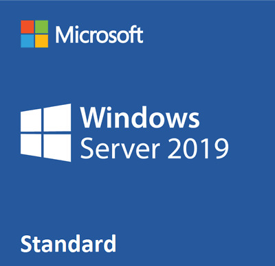Microsoft Windows Server 2019 Standard (Retail Sealed) With 25 CAL - 16 Cores