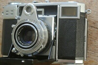 Zeiss Ikon Contessa Opton Tessar T 45mm 1:2.8 Lens NICE WORKING