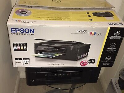 Epson EcoTank All-in-One Wi-Fi Printer ET-2600 Save up to 90% on ink costs