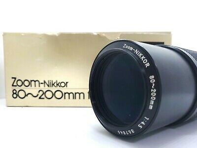 【MINT w/ Box】 Nikon AI Zoom Nikkor 80-200mm f/4.5 Lens MF From Japan