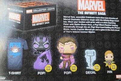 Marvel Collector Corps Box The Infinity Saga Brand New Preorder All Sizes
