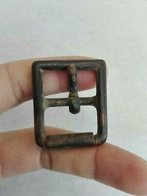 Belt Buckle Ancient Byzantine Bronze Century Antique Medieval Very Rare Amazing