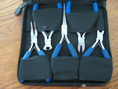 Craftsman Precision Pliers Set with Zipper Case plier