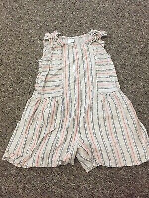 Next Girls Stripe Playsuit All In One Gorgeous 2-3 Years Worn Once Perfect