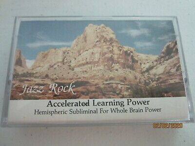 Subliminal Accelerated Learning Power w/ Whole Brain Cassette 1987 Progressive