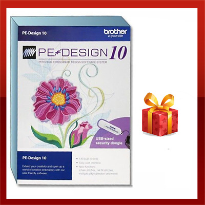 Brother PE Design 10 Embroidery Full Software | Free Gifts 🔥 FAST DLVRY [OFFER]