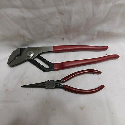 """Proto 7"""" Needle Nose Pliers and 9"""" Adjustable Pliers"""
