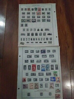 South West Africa Stamp Collection Vintage Antique Lot Stamps