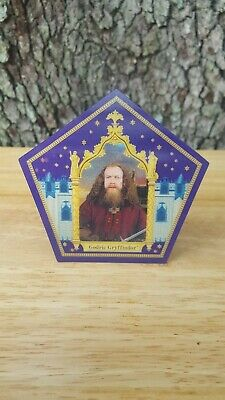 Harry Potter ☆☆☆GODRIC GRYFFINDOR☆☆☆Chocolate frog card FREE SHIPPING